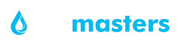 drymasters logo white and blue