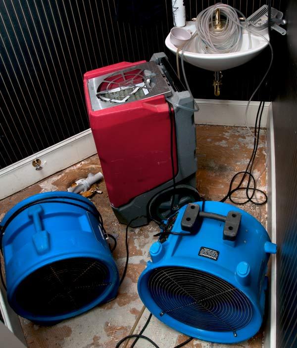 sewage restoration fans