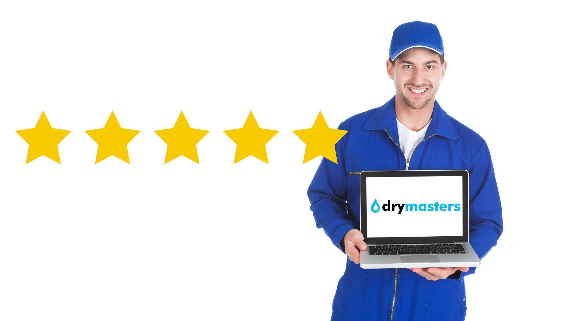 5 stars for DryMasters and installer